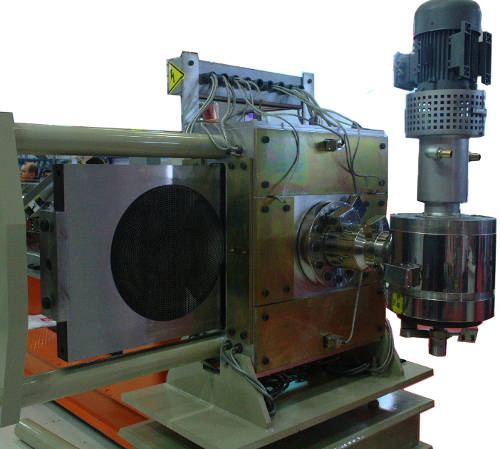 Granule machine die and filter